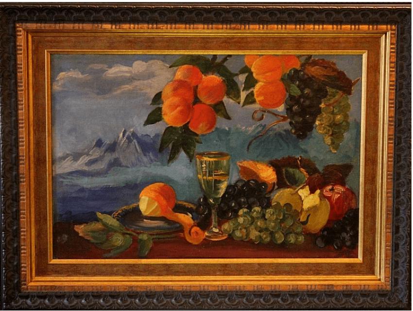 Cornélius Sanadze (1907 - 1982) de l'URSS, 1945, huile sur toile - photo 1