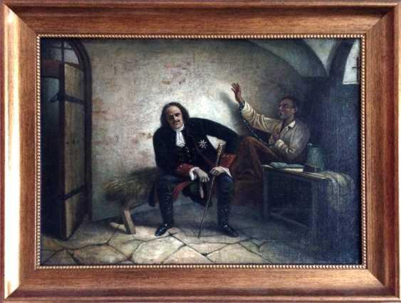"""Peter I and Ukrainian Hetman Pavlo Polubotok"". 2-I floor. XIX century. - photo 2"