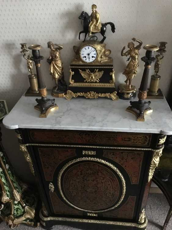 Mantel clock Napoleon, the beginning of the XIX century - photo 3
