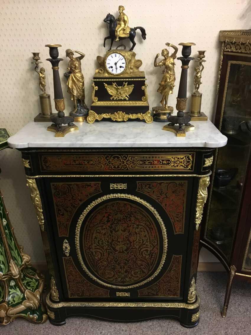 Mantel clock Napoleon, the beginning of the XIX century - photo 4