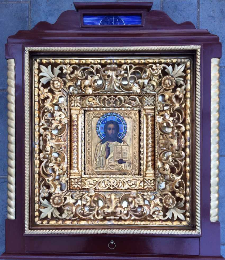 "Icon ""The Almighty."" Moscow, XIX century - photo 1"