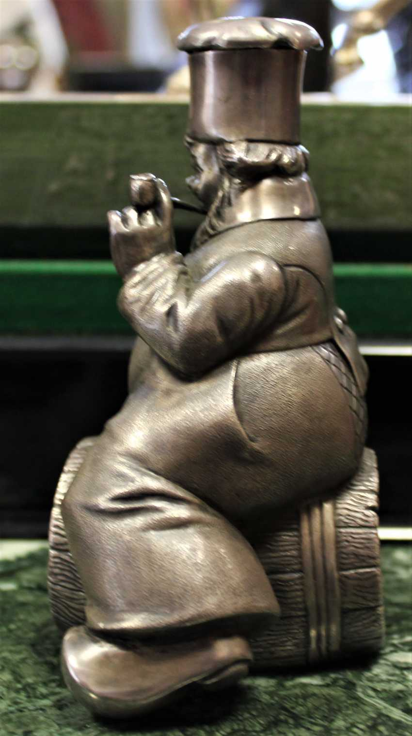 "Figurine pitcher ""Cook on the barrel"". XX - photo 2"