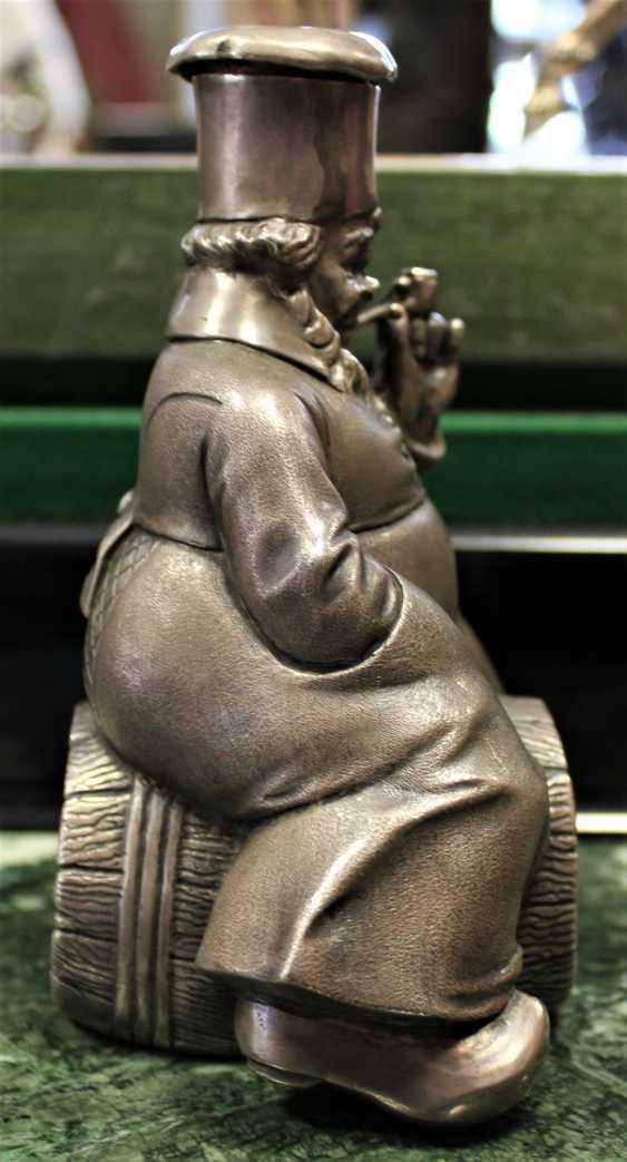 "Figurine pitcher ""Cook on the barrel"". XX - photo 4"