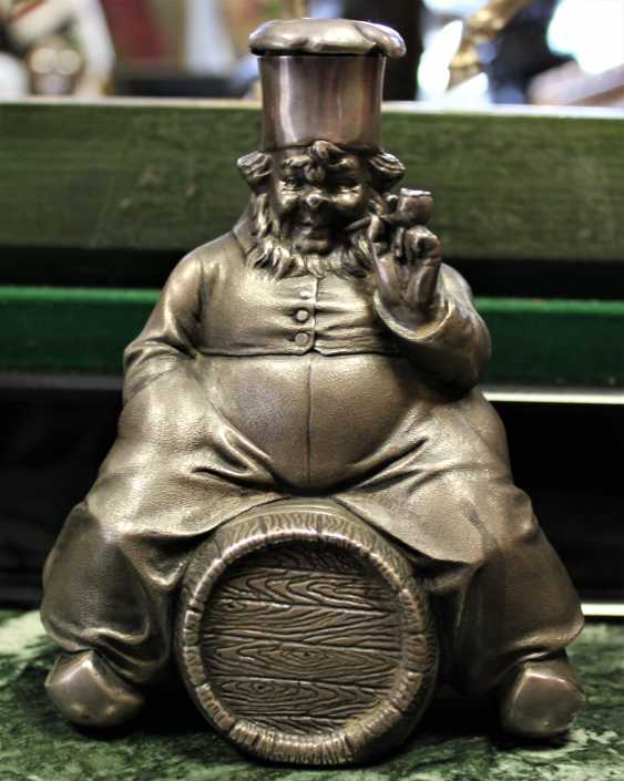 "Figurine pitcher ""Cook on the barrel"". XX - photo 1"