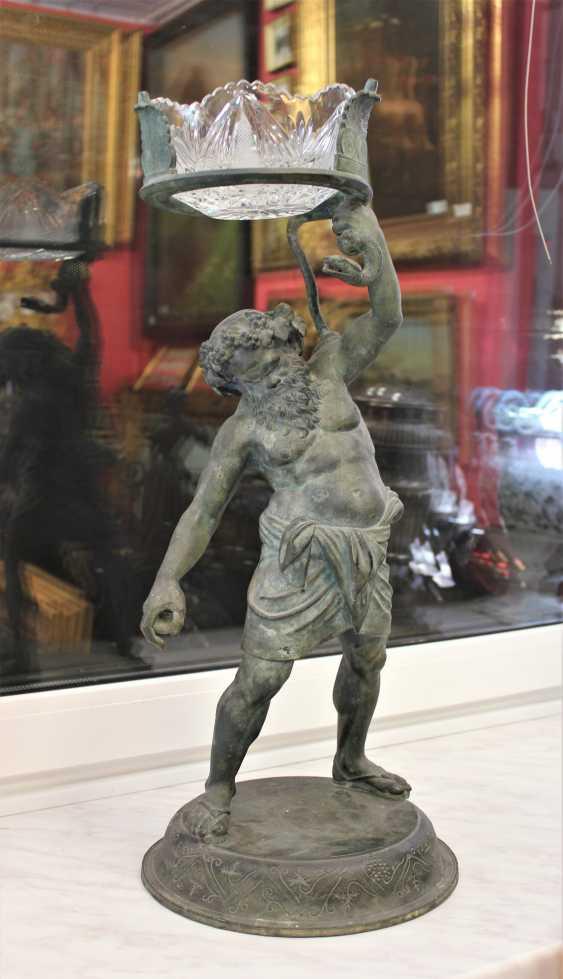 Ароматокурительница «Bacchus - Gott des Weines», XVIII Jahrhundert. - Foto 1