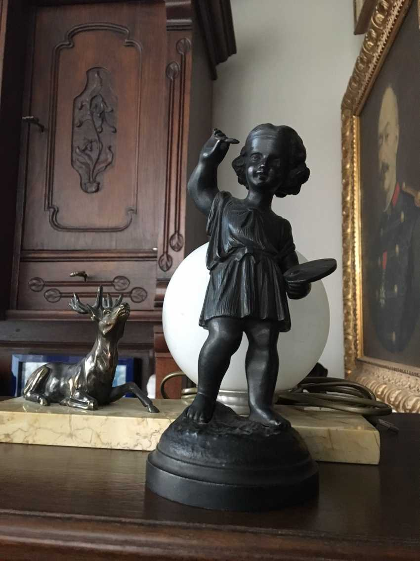 "Figurine ""Young artist"" - photo 4"