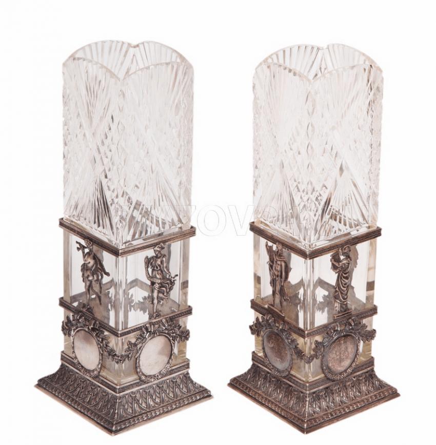 Vases Of The Firm Of I. P. Khlebnikov - photo 1