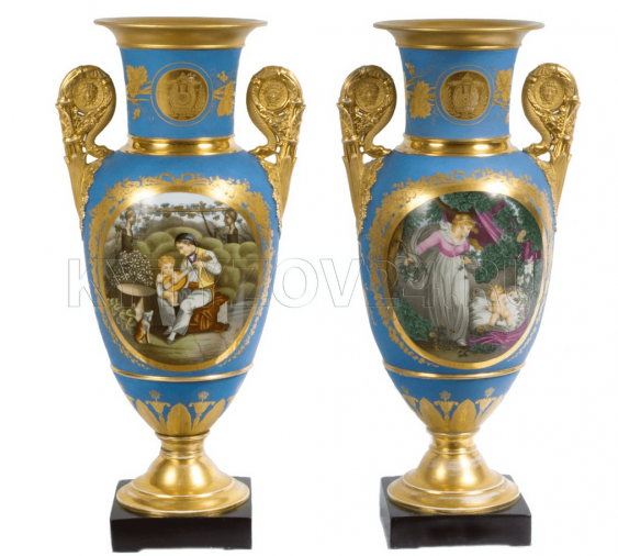 Vases paired .Kornilov Brothers - photo 1