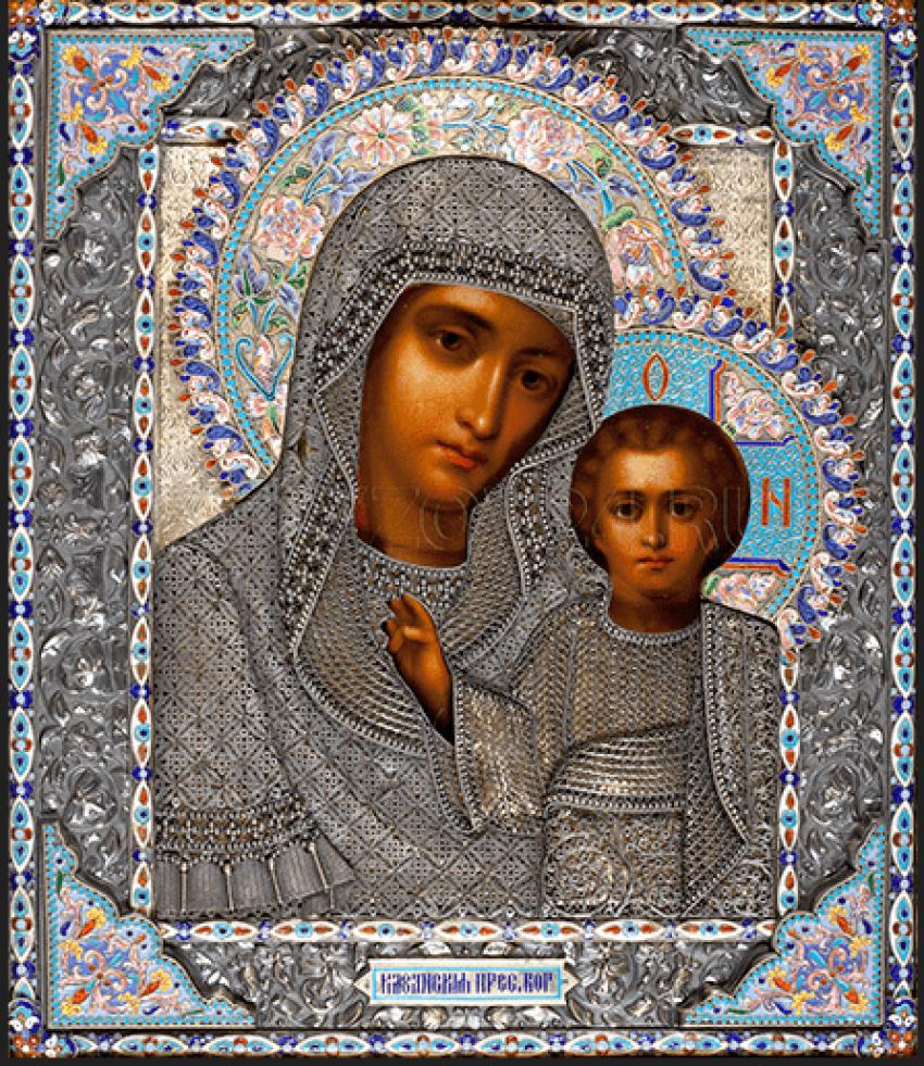 "Icon ""Virgin Of Kazan"" - photo 1"