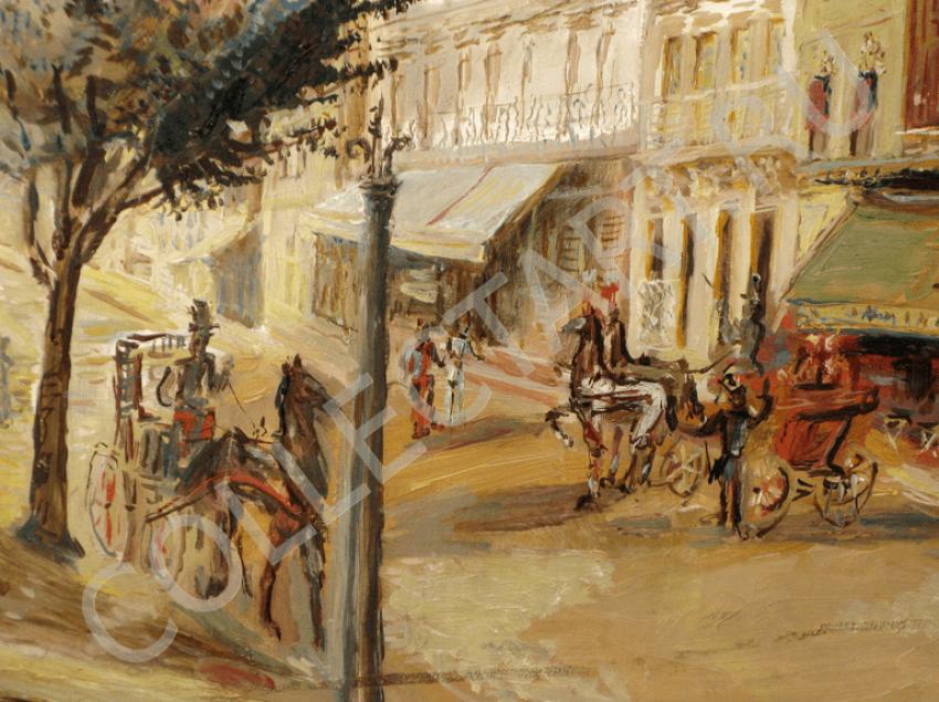 Arapov A. A. Paris street. 1927 - photo 4
