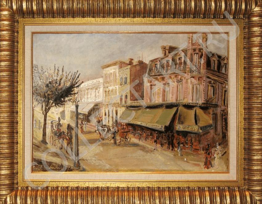 Arapov A. A. Paris street. 1927 - photo 1