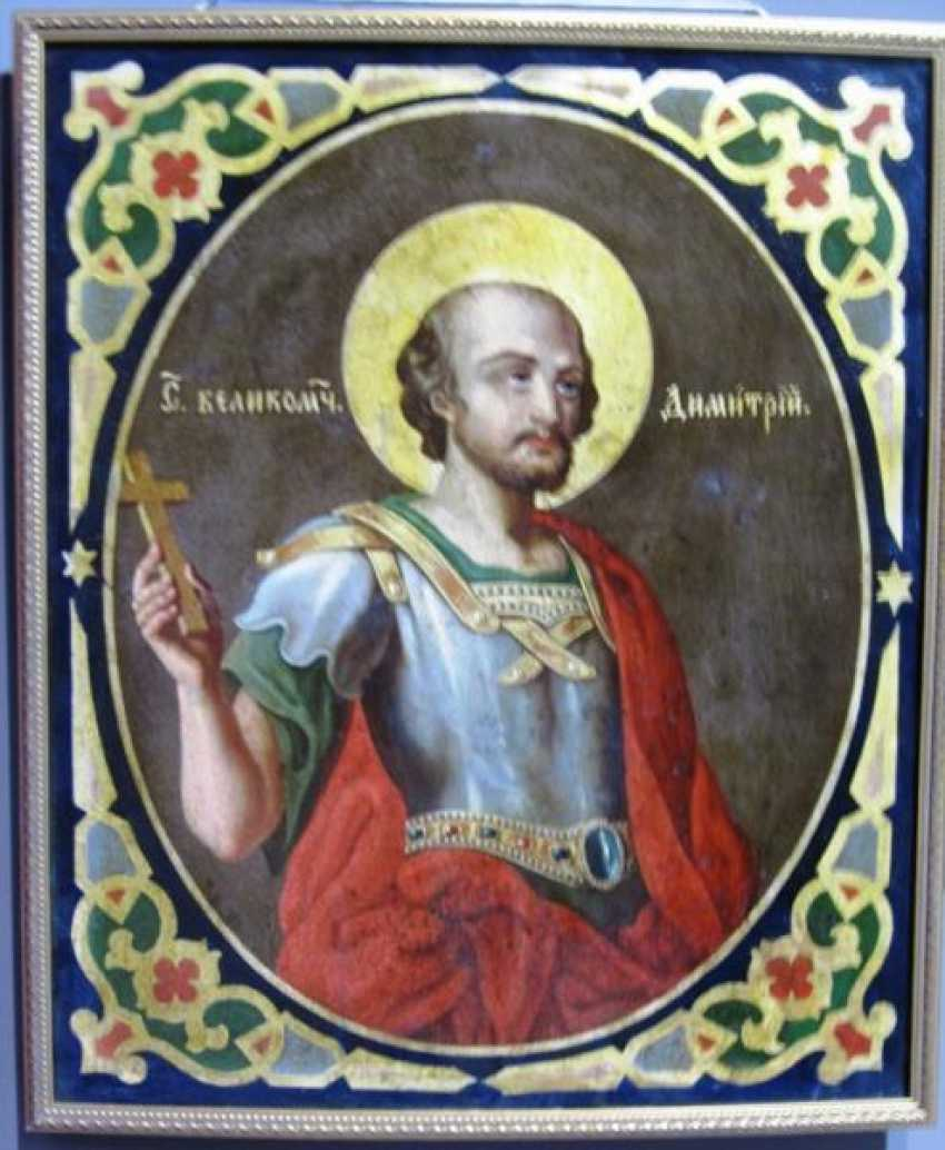 The Holy great Martyr Dmitry - photo 1
