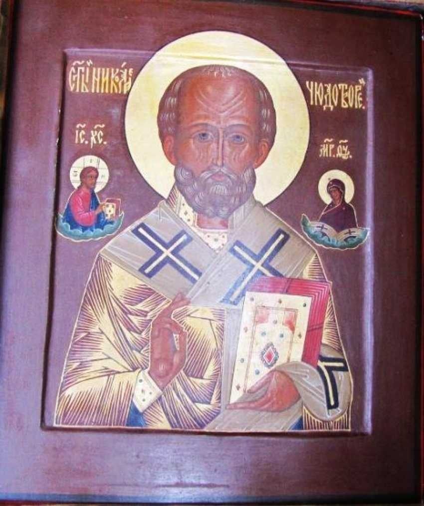 The Icon Of Saint Nicholas - photo 1