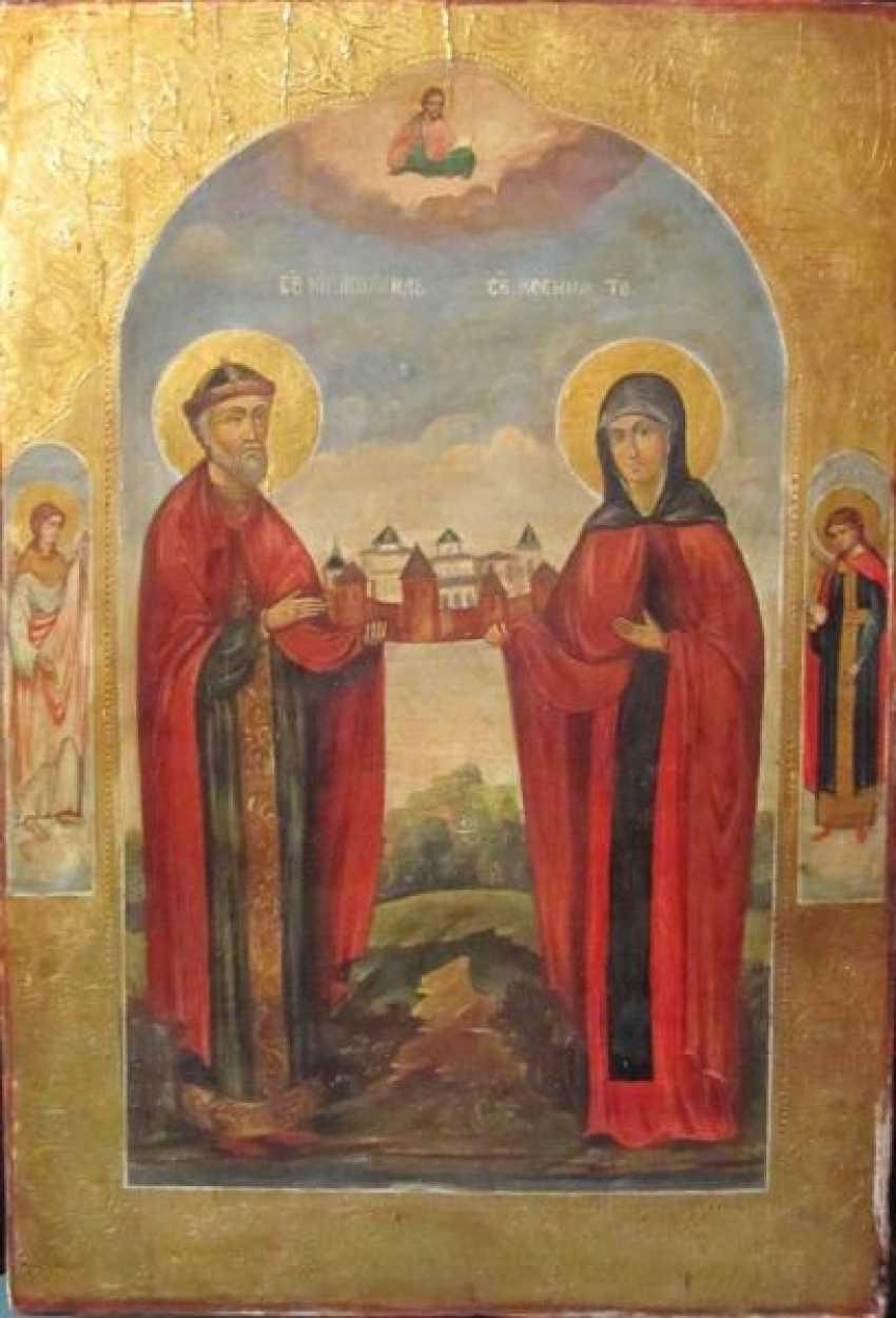 Der Heilige Fürst Michael und die Heilige Xenia - Foto 1