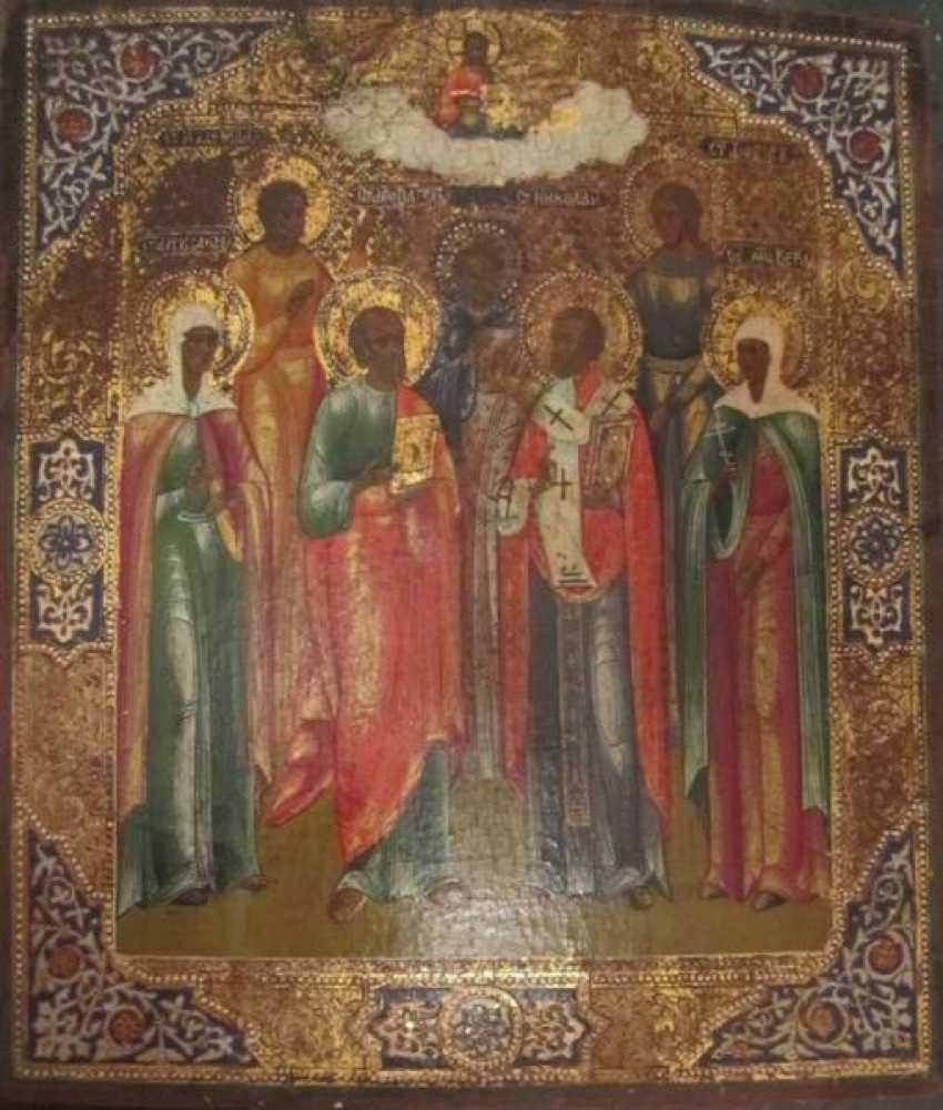 Saint James (Jacob), and saints Faith, Hope, Love, Alexander, and Paul and Nicholas - photo 1