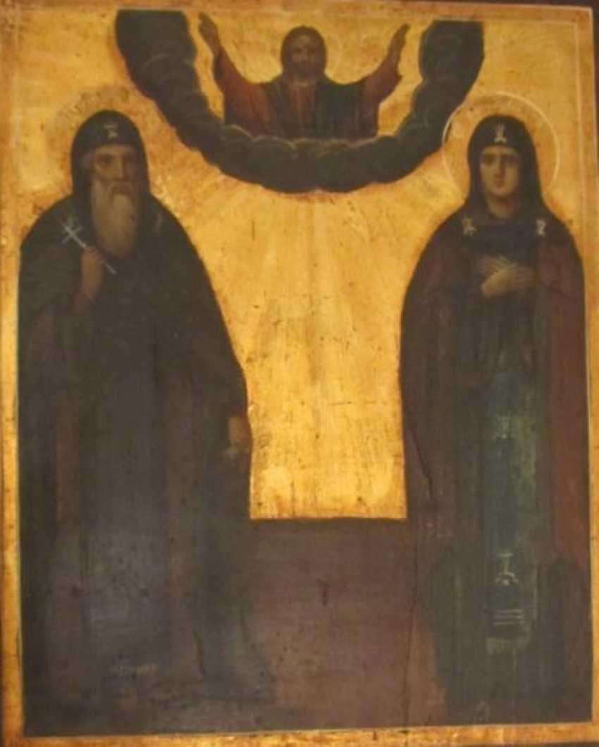 Die Heiligen Euthymius (Efim) und Taisa - Foto 1