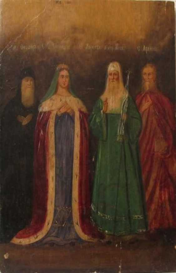 SV. much. Theodore (Fedor), SV. Queen Helena, ne. Alexis (Alex), St. Metropolitan Of Moscow. Arkhip - photo 1