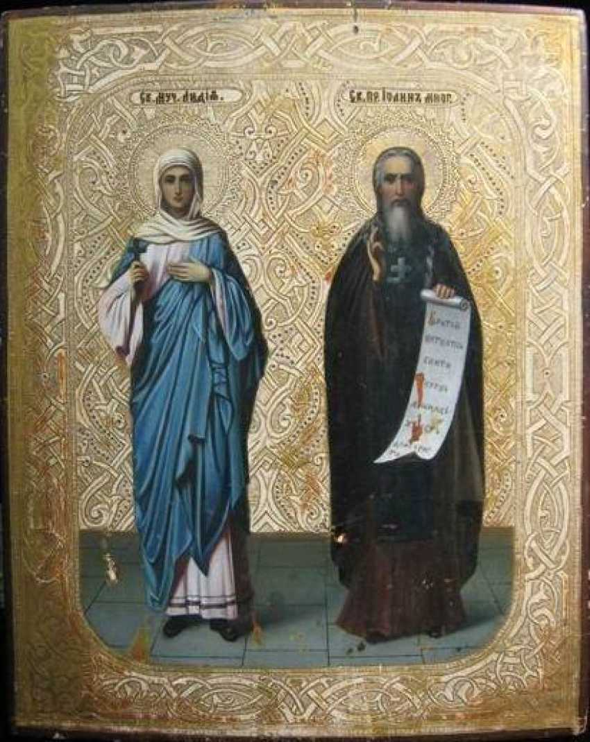 Holy Martyr Lydia and St. John the much-suffering - photo 1