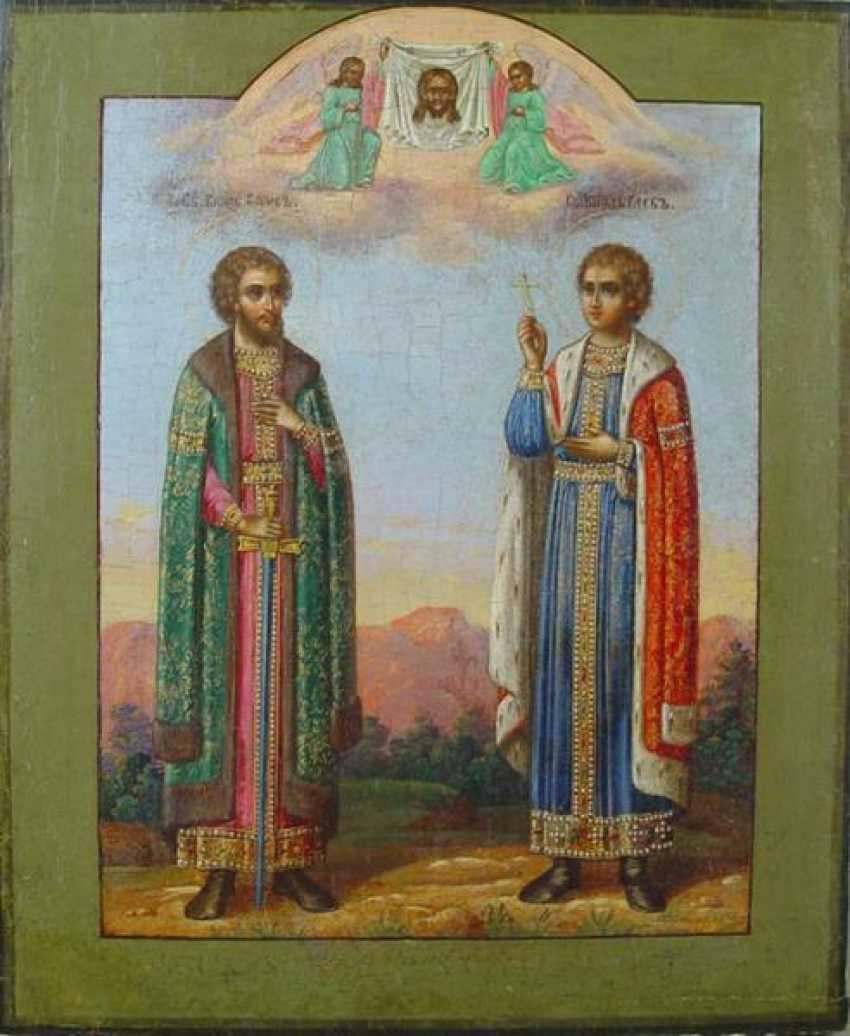 The Holy martyrs Boris and Gleb - photo 1