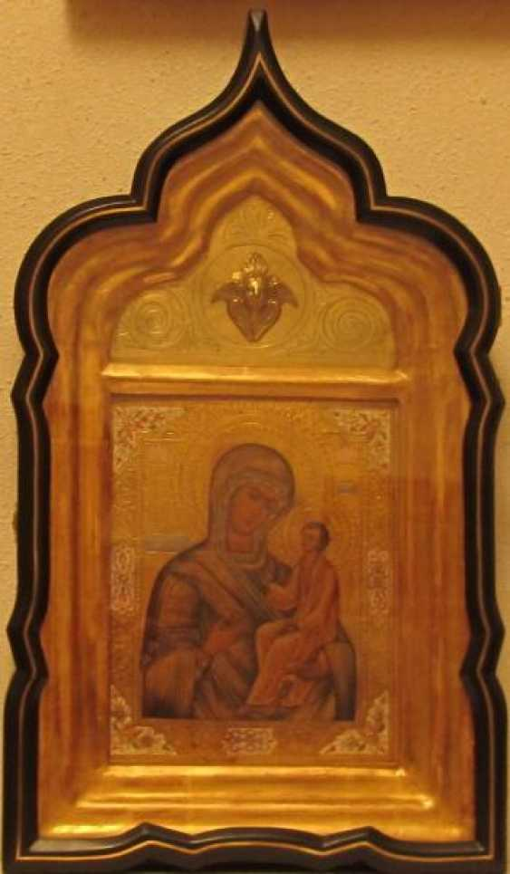The image of the Holy virgin of Tikhvin - photo 1