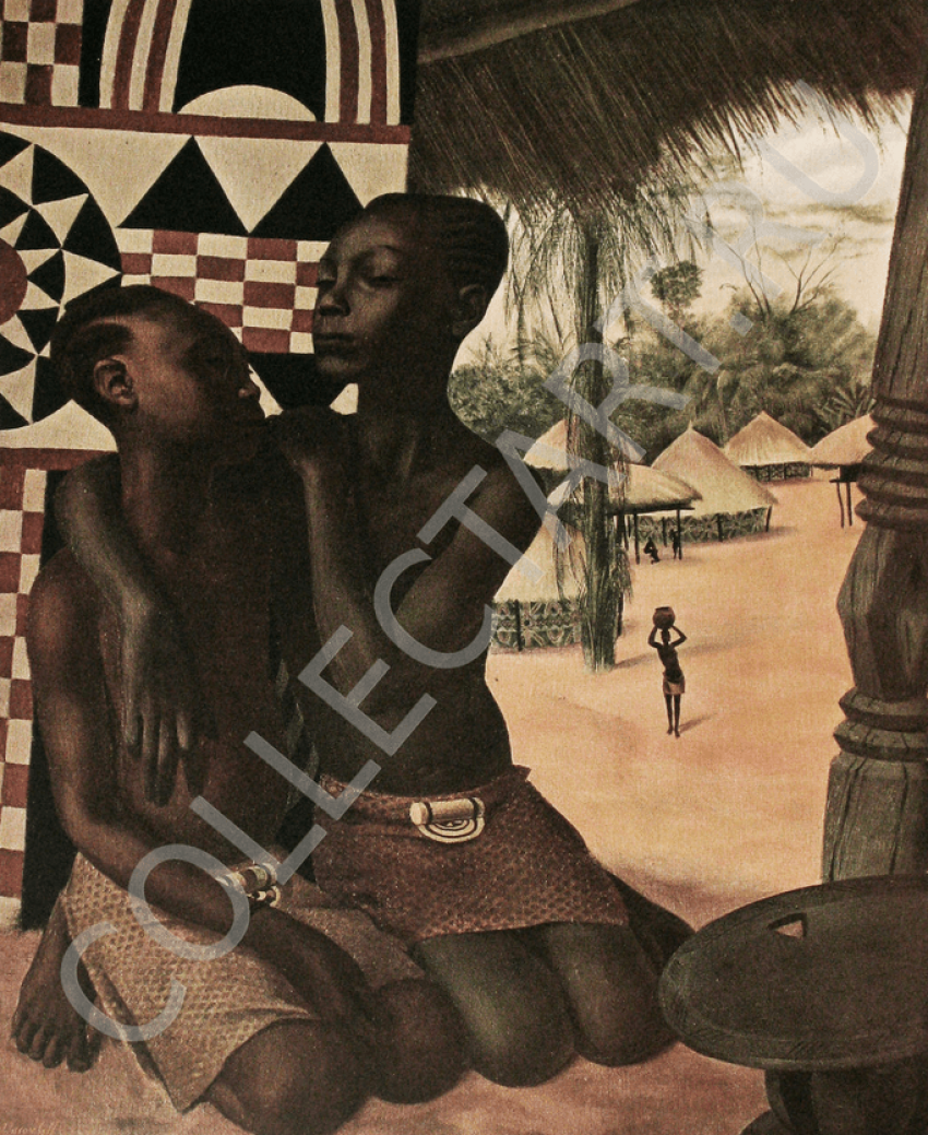"YAKOVLEV )Album ""Africa"". 1927 - photo 6"