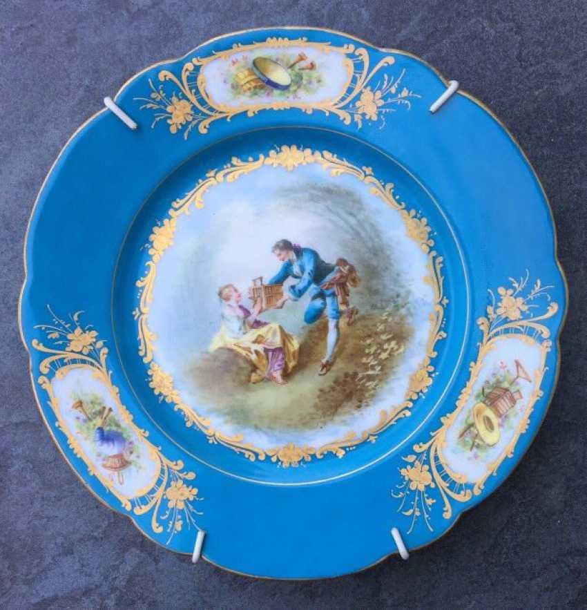 A couple bowls. Sèvres, XVIII century - photo 2