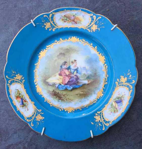 A couple bowls. Sèvres, XVIII century - photo 4