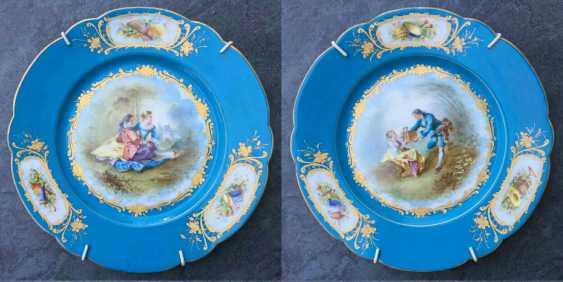 A couple bowls. Sèvres, XVIII century - photo 1