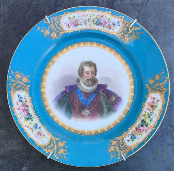 """A couple bowls """"Henry lV and Marie de Medici"""", sèvres, 1846 - photo 2"""