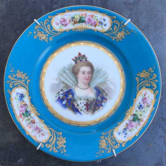 """A couple bowls """"Henry lV and Marie de Medici"""", sèvres, 1846 - photo 4"""