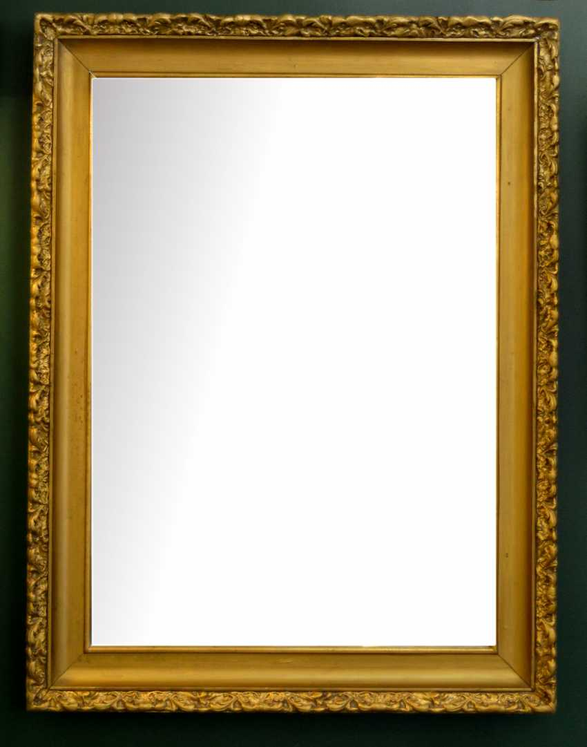 Mirror in a gold frame - photo 2
