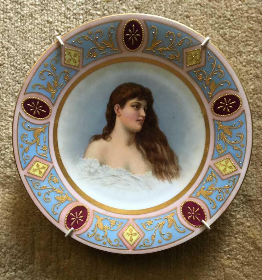 Decorative plate Vienna, XIX century - photo 1