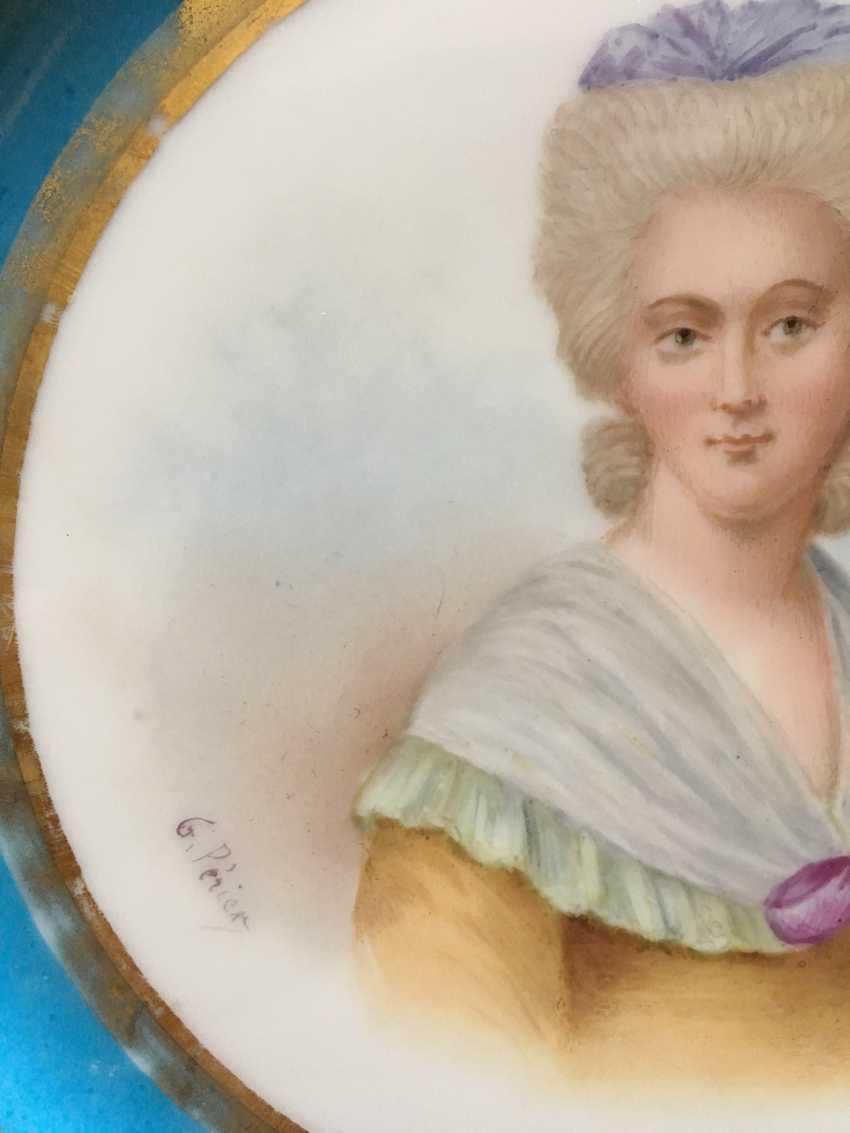 "Plate ""Mme Rieker antistress"", sèvres, 1779 - photo 3"