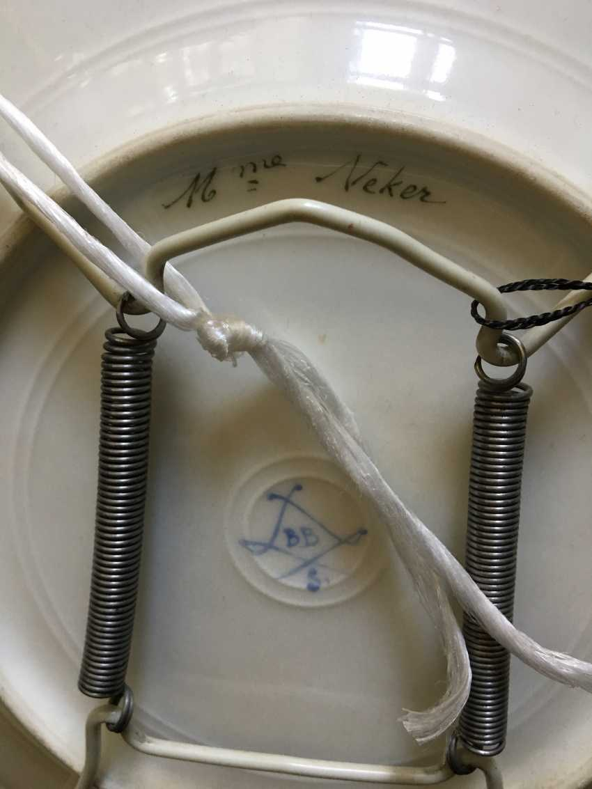 "Plate ""Mme Rieker antistress"", sèvres, 1779 - photo 2"