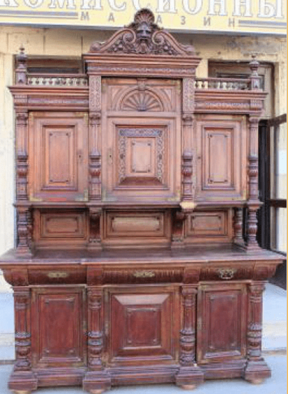 Buffet oak Russia the end of the 19th century - photo 1
