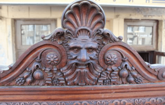 Buffet oak Russia the end of the 19th century - photo 7