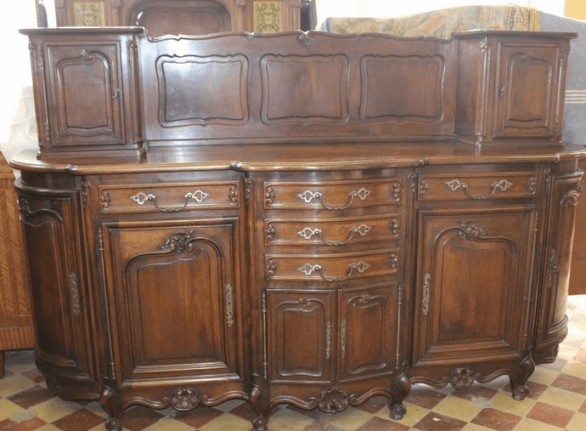 "Walnut dining Suite in the style of ""Rococo"" - photo 2"