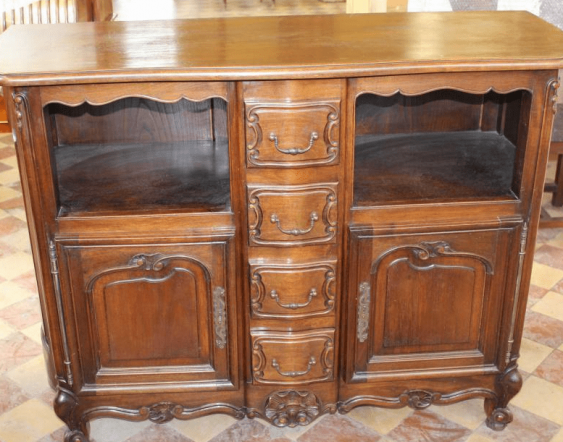 "Walnut dining Suite in the style of ""Rococo"" - photo 3"