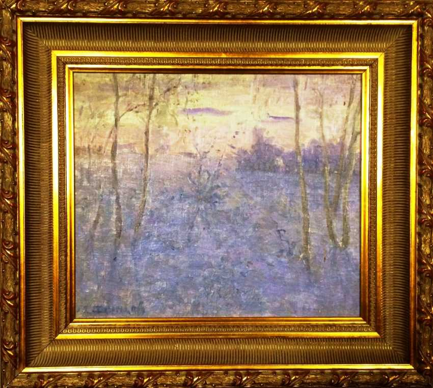 "The Painting ""Winter"". M. A. Dontsov. The twentieth century - photo 1"