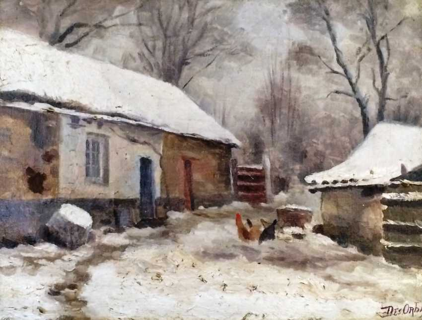 """The picture of the """"household"""". Desiderius Orban. Hungary - photo 3"""