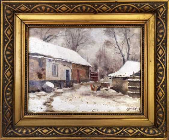 """The picture of the """"household"""". Desiderius Orban. Hungary - photo 1"""
