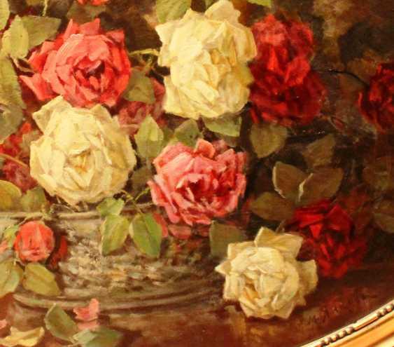 "YANKOV M. D. ""still life with roses"". Nach. XX century. - photo 2"