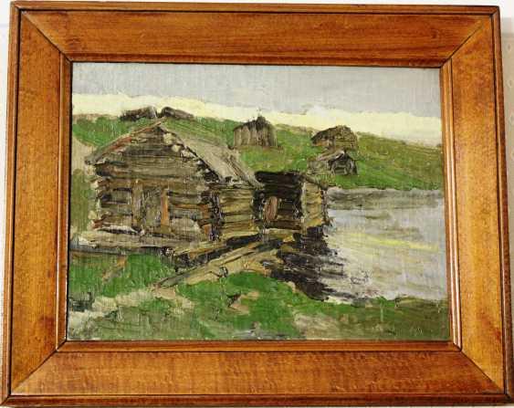 """La Peinture """"Maisons"""". Arkhipov Prochain Chef. XX - photo 2"""