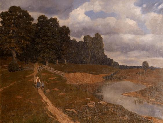 Summer landscape 1900 S. Fedorov g - photo 1