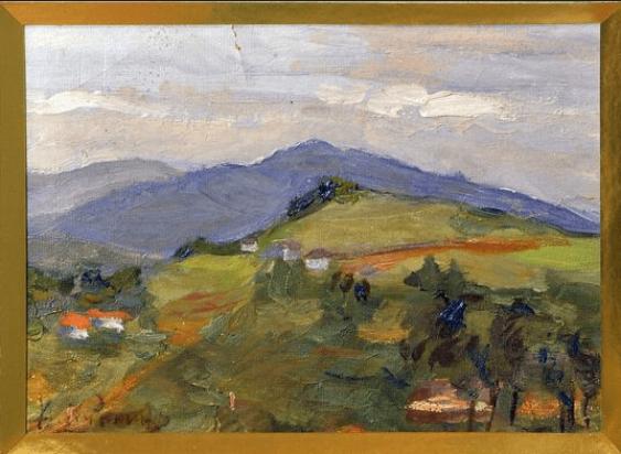 Crimean landscape A. Kuznetsov 1900's - photo 1