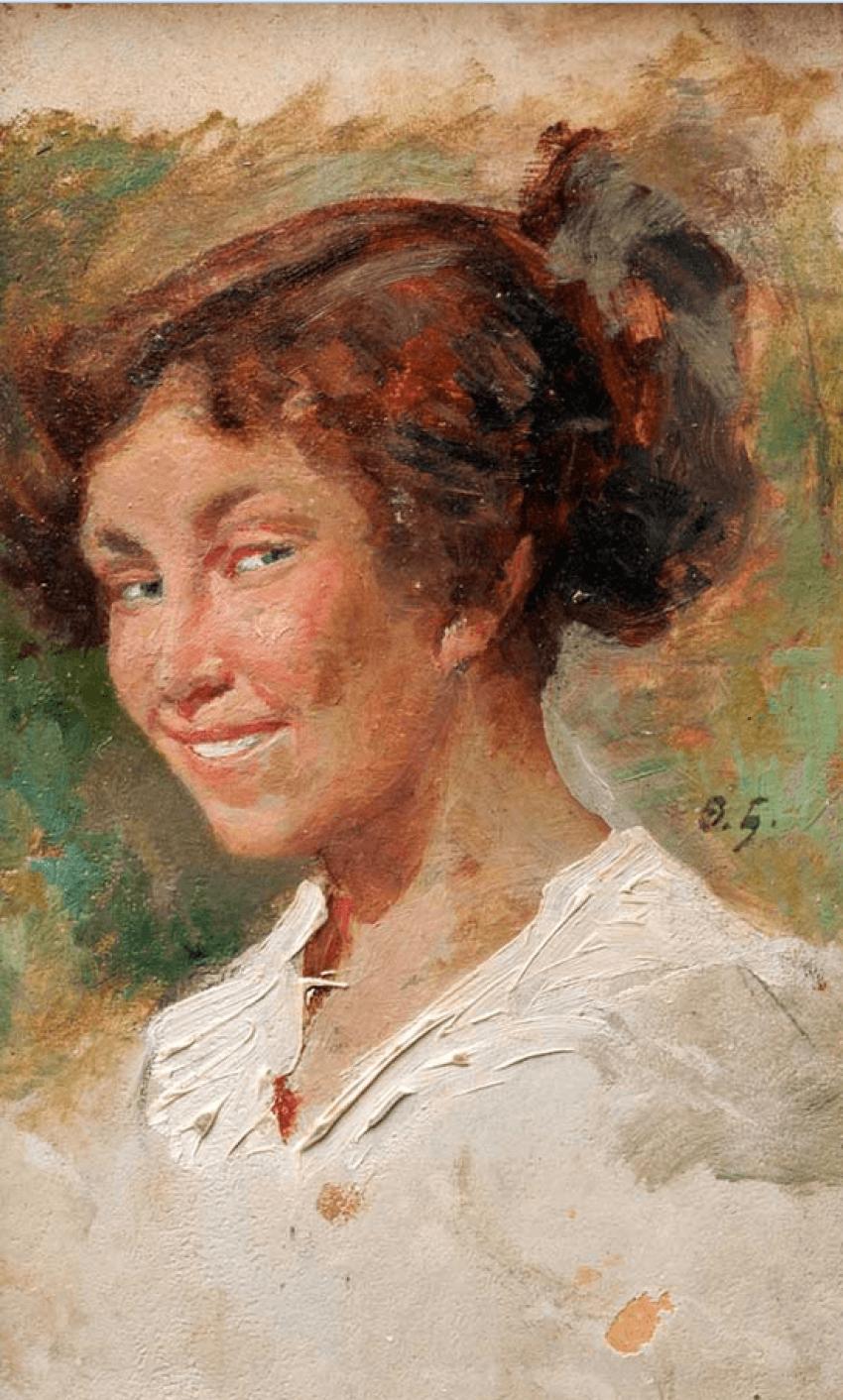 Portrait of a lady F. Buchholz - photo 1