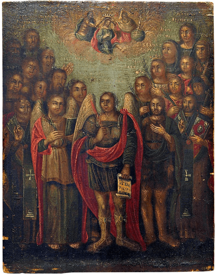 "Icon ""The Cathedral Of The Archangels"" - photo 1"