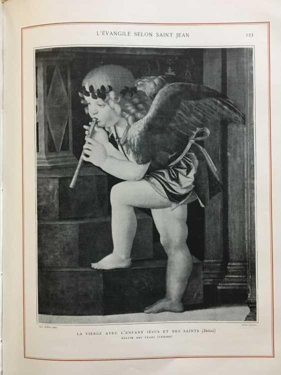 """The book """"Les Saints Evangiles"""", Paris, 1899 - photo 9"""