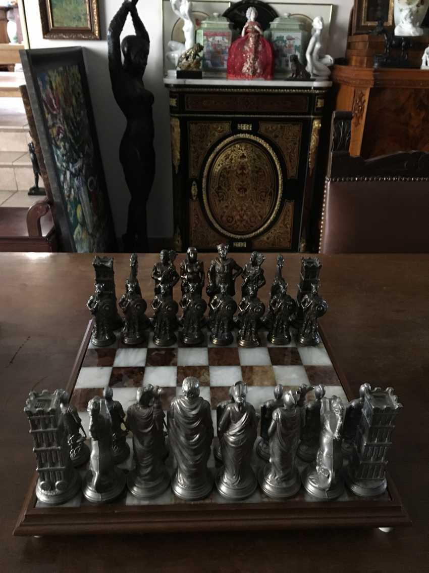"Chess "" the Vikings "" and "" Knights"", XIX - n. XX centuries. - photo 6"