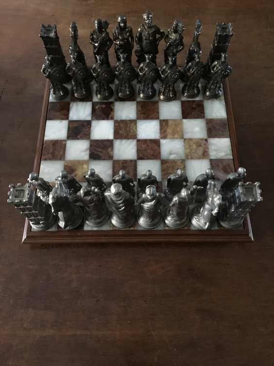 "Chess "" the Vikings "" and "" Knights"", XIX - n. XX centuries. - photo 3"